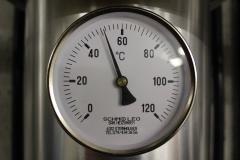 Temperaturanzeige-Heizung